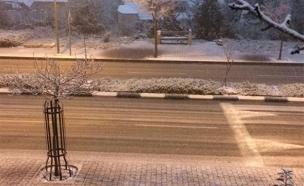 החשש - קרח על הכבישים