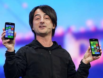 ג'ו בלפיורי, הפנים של Windows Phone (צילום: מיקרוסופט)