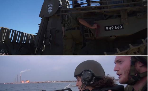 """חילופי תפקידים (צילום: דובר צה""""ל, באדיבות גרעיני החיילים)"""
