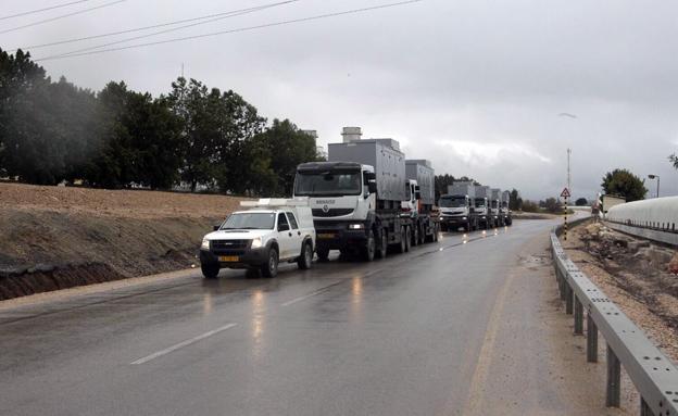 חשש מהצטברות קרח על הכבישים (צילום: יוסי וייס)