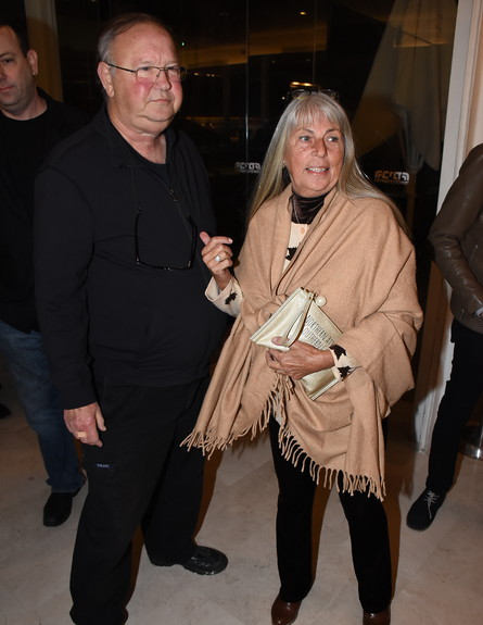 יגאל שילון ואשתו (צילום: אביב חופי)