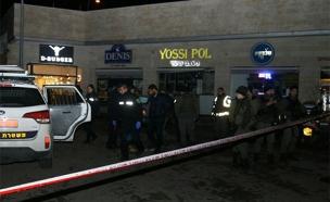 פיגוע דקירה בגבעת זאב (צילום: אהוד אמיתון/TPS)