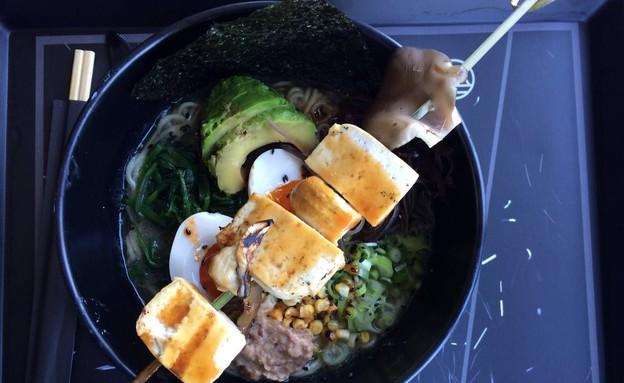 מיאזקי ראמן צמחוני (צילום: צילום ביתי, אוכל טוב)