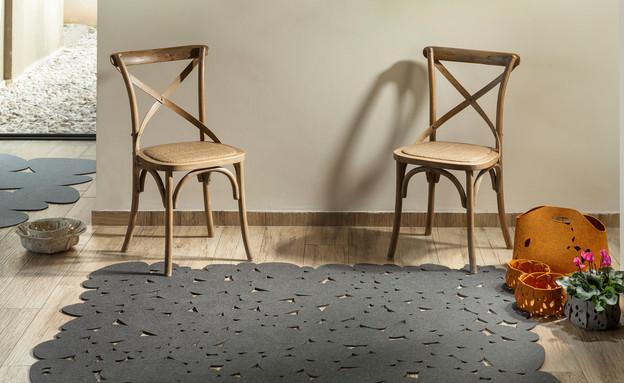 שטיחים של תמר ניקס (צילום: אלעד גונן, עיצוב פנים מיכל מטלון)