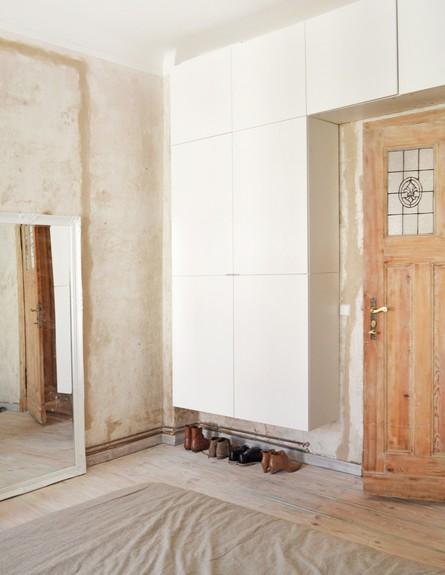 דירה לשימור בברלין, ג, שינה  (צילום: Diane Adam - dianaadam.net)