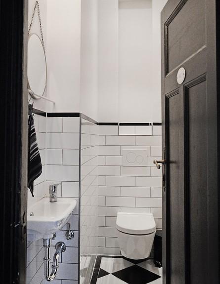 דירה לשימור בברלין, ג, שירותים  (צילום: Diane Adam - dianaadam.net)
