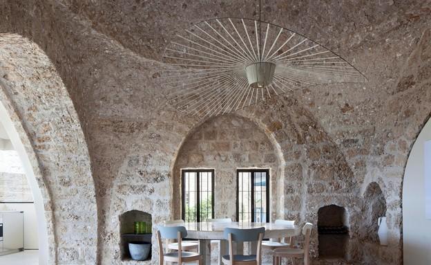 בית ביפו בעיצוב פיצו קדם (צילום: עמית גירון)