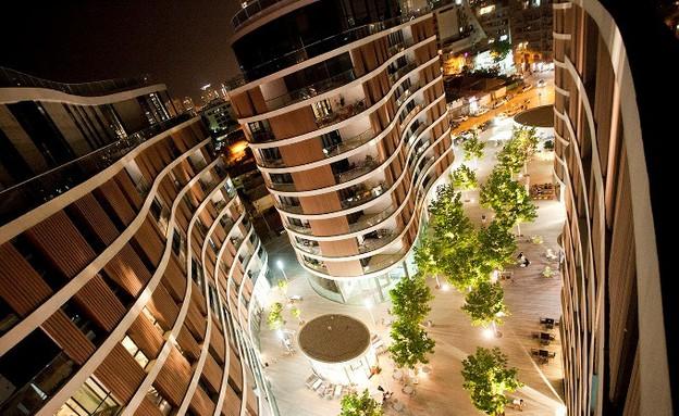רביעיית פלונטין של פיבקו אדריכלים (צילום: דין אהרוני)