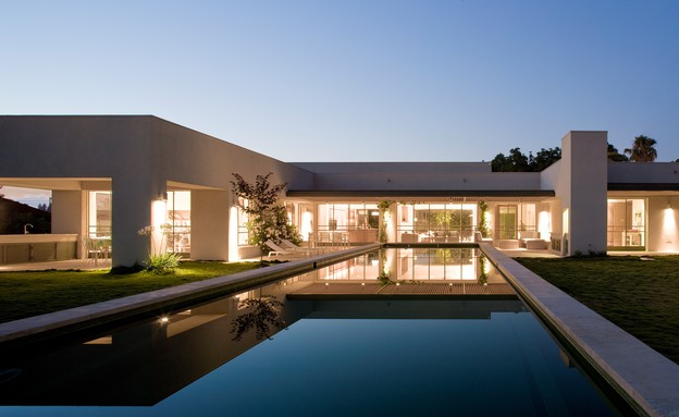 בית בבצרה בעיצוב פלסנר אדריכלים (צילום: עמית גירון)