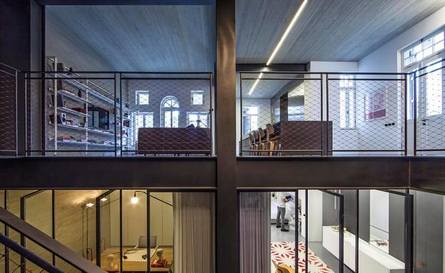 שיפוץ דירה לשימור בעיצוב פיצו קדם אדריכלים (צילום: עמית גירון)