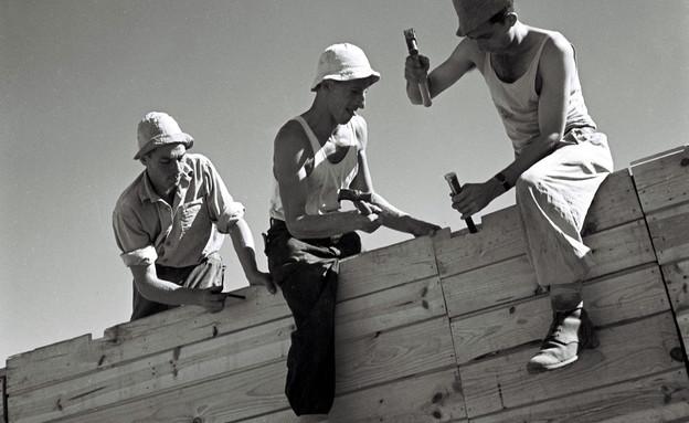 חלוצים (צילום: GPO, GettyImages IL)