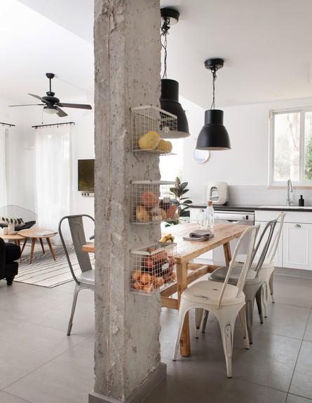 שני מור מכמורת, שולחן אוכל גובה (צילום: גלית דויטש)