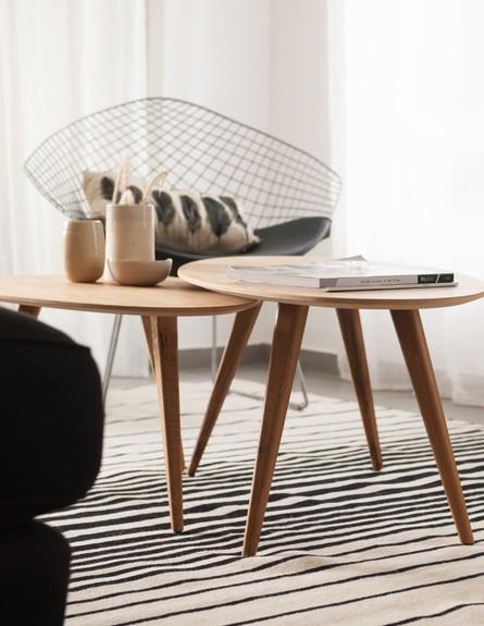 שני מור מכמורת, שולחן סלון (צילום: גלית דויטש)