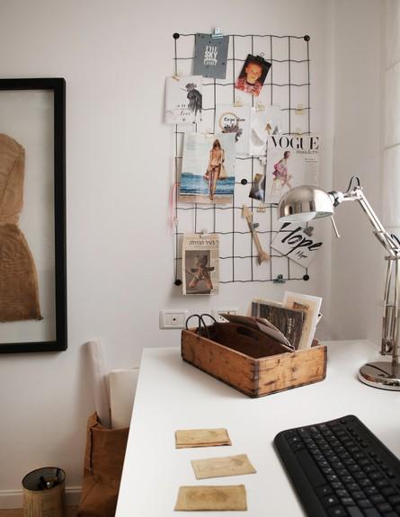 שני מור מכמורת, שולחן עבודה גובה (צילום: גלית דויטש)