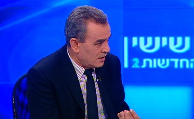 """""""כולם קורבנות טרור"""", זחאלקה (צילום: חדשות 2)"""