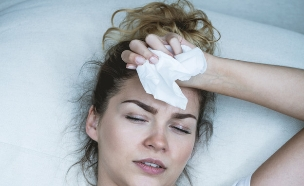 אישה חולה (צילום: Shutterstock)