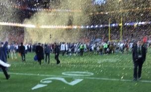 צילום הסופרבול של טים קוק (צילום: טים קוק, טוויטר)