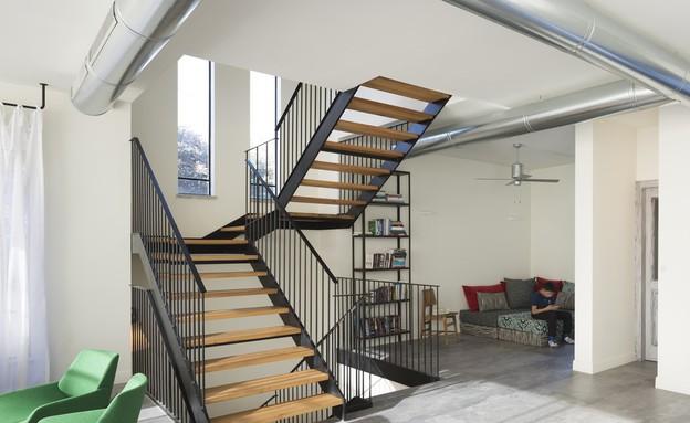 מדרגות (צילום: שי אפשטיין)