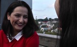 ראיון ראשון עם פלורי אחרי עזיבתה מבית האח הגדול (צילום: רותם קפלינסקי)