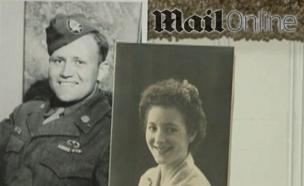 תומאס ומוריס לפני 70 שנה (צילום: DailyMail Online)