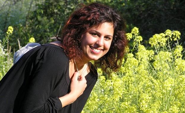 רוית, חילונית שפתחה פרופיל בשליש גן עדן (צילום: דפנה נוריאל)