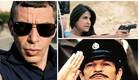 שוטרים ישראליים בקןלנוע ובטלוויזיה קולאז