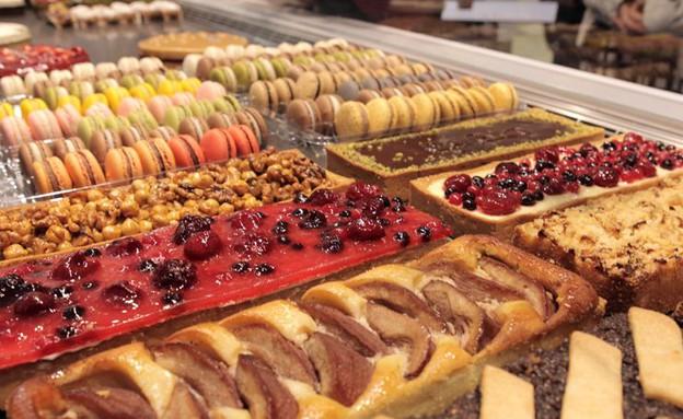 מקלות וניל ויטרינה מקרונים (צילום: ג'רמי יפה, אוכל טוב)