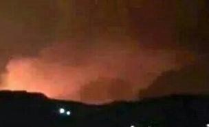 תקיפה לילית בדמשק?