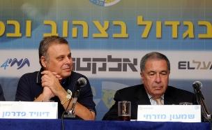 שמעון מזרחי ודייויד פדרמן (צילום: יוסי זליגר, פלאש 90)