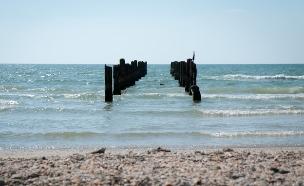 חוף בית ינאי (צילום: רשות הטבע והגנים, יחסי ציבור)
