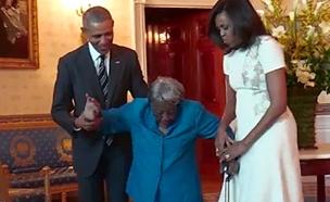 אובמה, הבית הלבן (צילום: חדשות 2)
