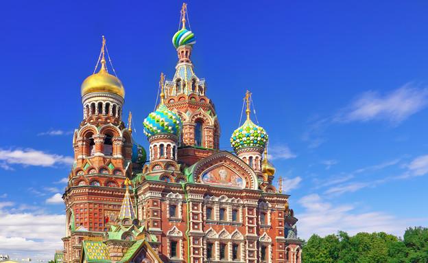 כנסיית הגואל שעל הדם, סנט פטרסבורג, רוסיה (צילום: Brian Kinney, Shutterstock)