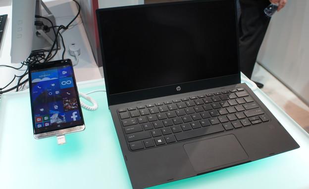סמארטפון HP Elite X3 (צילום: יאיר מור, ברצלונה, NEXTER)