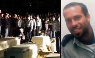 """הלוויתו של אליאב גלמן ז""""ל (צילום: באדיבות אתר ערוץ 7)"""