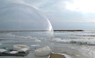 אוהל בועה (צילום: bubbletent.us)