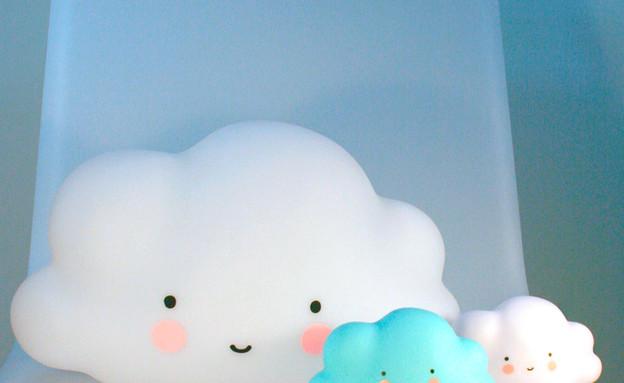 מנורות ענן בשני גדלים (צילום: a little lovely company)