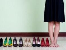 אין דבר כזה יותר מדי נעליים