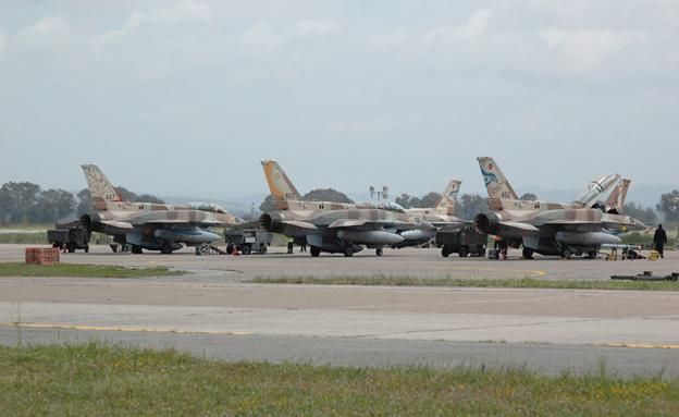 לפני שנה: מערך האימונים קורקע (צילום: חיל האוויר)