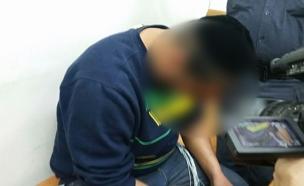 אחיו של האב שנעצר הבוקר (צילום: חדשות 2)