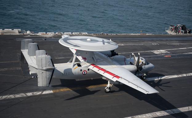נושאת המטוסים שארל דה גול (צילום: חיל הים של ארצות הברית)