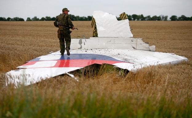 """""""סבירות גבוהה"""" שמדובר במטוס המלזי (צילום: רויטרס)"""