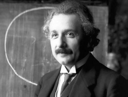 אלברט איינשטיין (צילום: wikimedia user: Quibik)