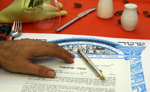 כתובה (צילום: Lily Rosen - Zohar, Shutterstock)