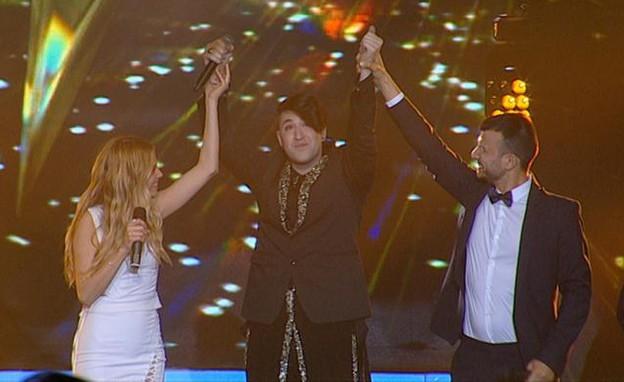חובי הזוכה  (צילום: מתוך הכוכב הבא לאירוויזיון 2016, שידורי קשת)