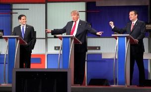 עימות רפובליקני: כולם נגד טראמפ? (צילום: רויטרס)
