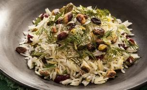 אורז עם חמוציות ופסטוקים  (צילום: אפיק גבאי, אוכל טוב)