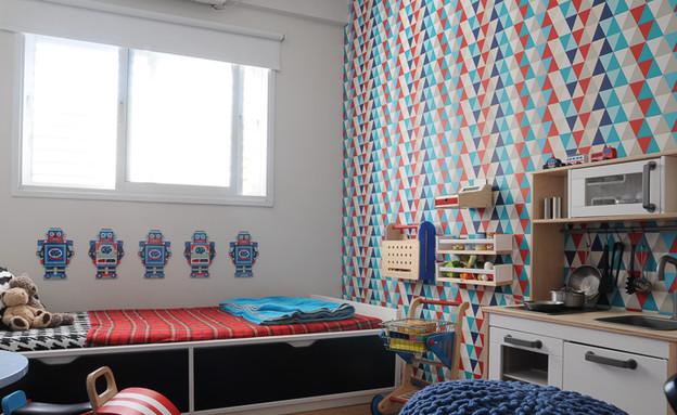 אחסון בחדרי ילדים (צילום: אביבית ויסמן)