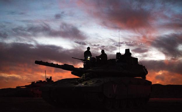 """צפו: יממה בצבא ב-2 דקות (צילום: דובר צה""""ל)"""