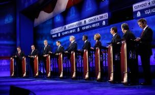המועמדים הרפובליקנים בתחילת הדרך (צילום: רויטרס)