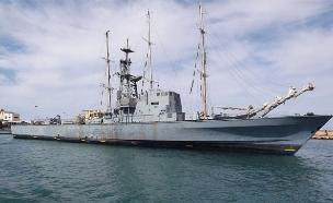 ספינת הרפאים של חיל הים (צילום: שי לוי)